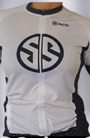 maillot cyclisme manches courtes femmes